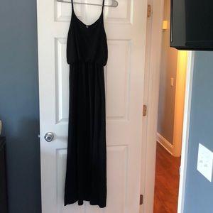 Black Maxi Dress! Size Medium! Worn Twice!